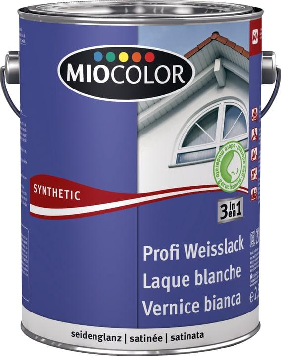 Synthetic Profi Weisslack seidenglanz Miocolor 661442700000 Farbe Weiss Inhalt 2.5 l Bild Nr. 1