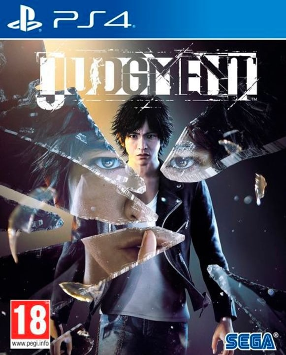 PS4 - Judgment F Box 785300144100 Photo no. 1