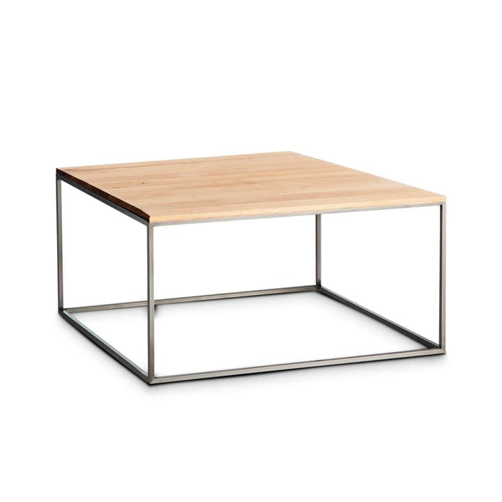 COFFEE table club 362230400000 Dimensions L: 60.0 cm x P: 60.0 cm x H: 31.0 cm Couleur Chêne Photo no. 1