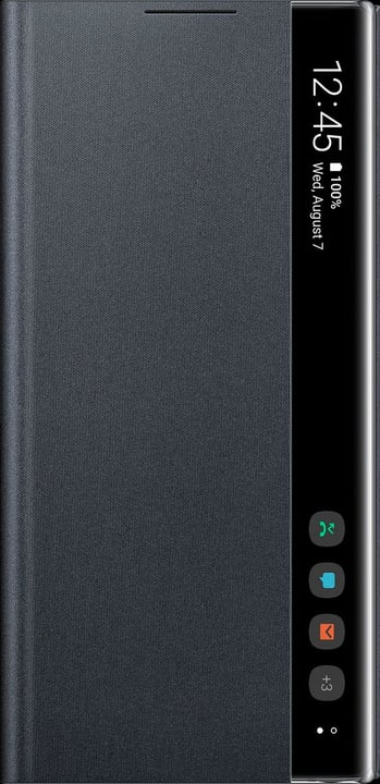 Clear View Cover black Coque Samsung 798641800000 Photo no. 1