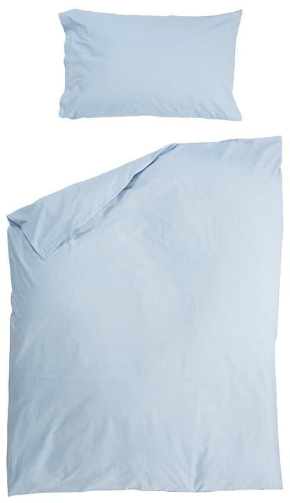 FERNANDO Fourre de duvet en percale 451261512541 Couleur Bleu Dimensions L: 200.0 cm x H: 210.0 cm Photo no. 1
