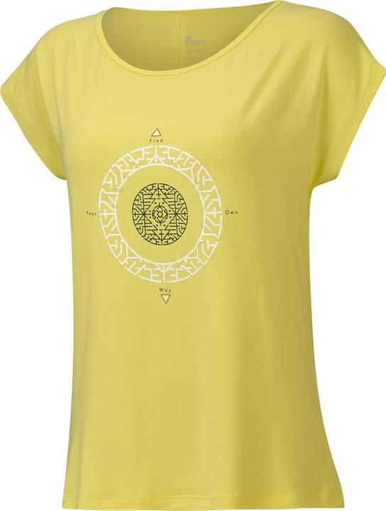 Damen-T-Shirt Damen-T-Shirt Perform 464927504459 Farbe zitronengelb Grösse 44 Bild-Nr. 1