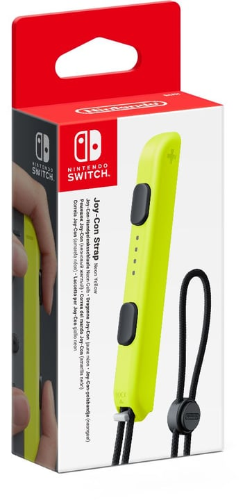 Switch dragonne Joy-Con jaune Nintendo 798183300000 Photo no. 1