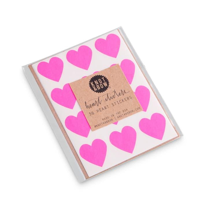 HEARTS Sticker 386187000000 Grösse B: 9.0 cm x T: 7.0 cm x H: 0.1 cm Farbe Pink Bild Nr. 1