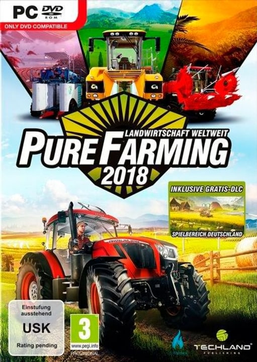 PC - Pure Farming 2018 Day One Edition (I) Physique (Box) 785300131613 Photo no. 1