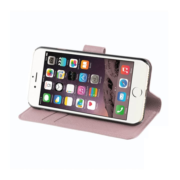 Wallet Viskan iPhone 6/6S/7/8 rose gold XQISIT 798063400000 N. figura 1