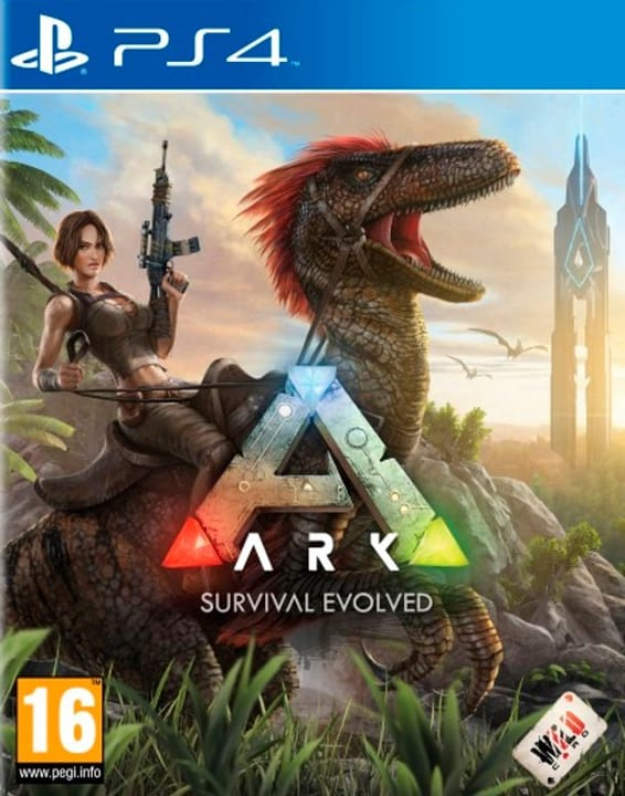 PS4 - ARK: Survival Evolved Box 785300122833 Photo no. 1