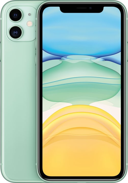 iPhone 11 64GB Green Smartphone Apple 794644100000 Couleur vert Photo no. 1