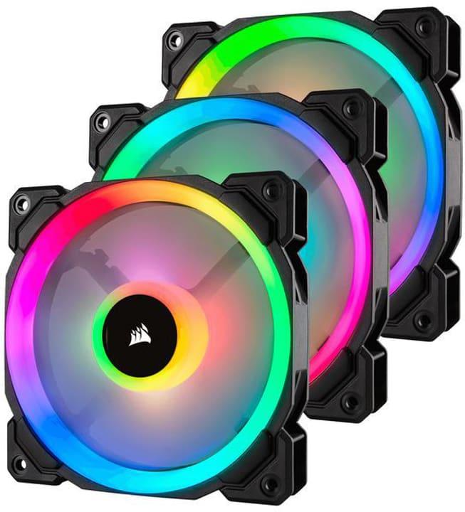 LL120 RGB Triple Pack mit Lighting PC-Lüfter Corsair 785300147345 Bild Nr. 1