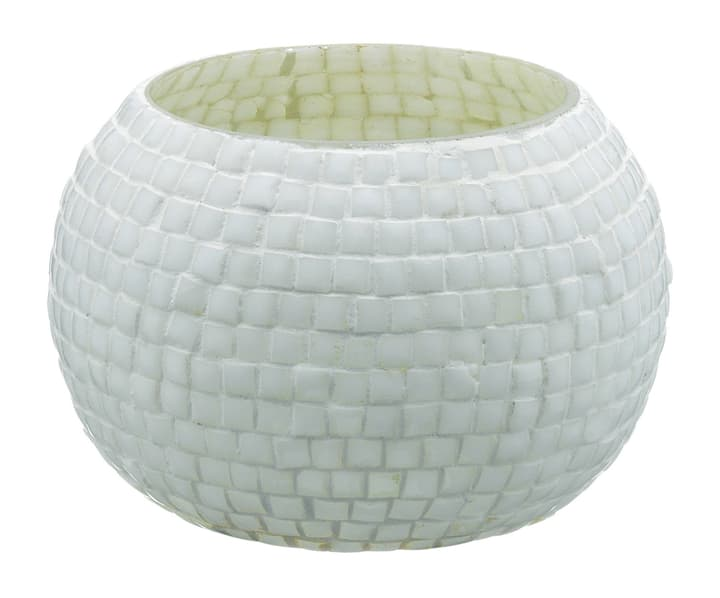 MOSAIC Photophore 440618000910 Couleur Blanc Dimensions H: 6.5 cm Photo no. 1