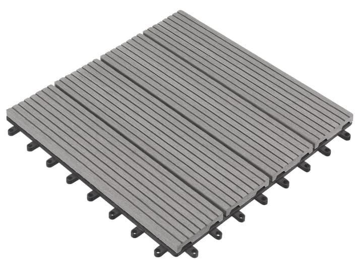 Composit-Terrassenplatten 30 x 30 cm Do it + Garden 647118900000 Farbe Grau Bild Nr. 1