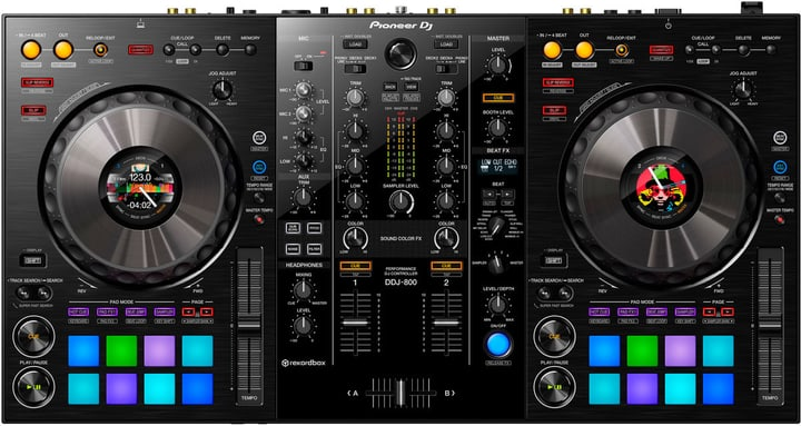 DDJ-800 DJ Controller Pioneer DJ 785300144796 Photo no. 1