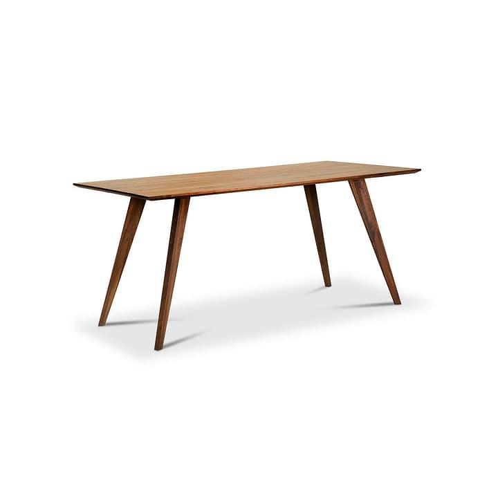 CHARLES Table 366107800000 Dimensions L: 200.0 cm x P: 100.0 cm x H: 75.0 cm Couleur Noyer Photo no. 1