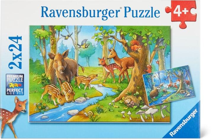 Animaux de forêt Ravensburger Puzzle 748976300000 Photo no. 1