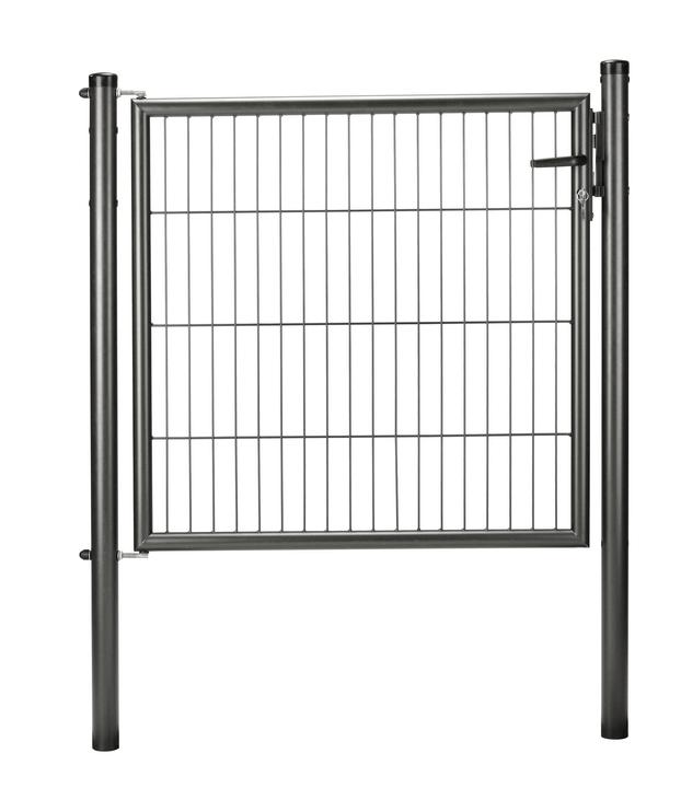 Tor Einstab-Gittermatte anthrazit metal. 636608900000 Bild Nr. 1