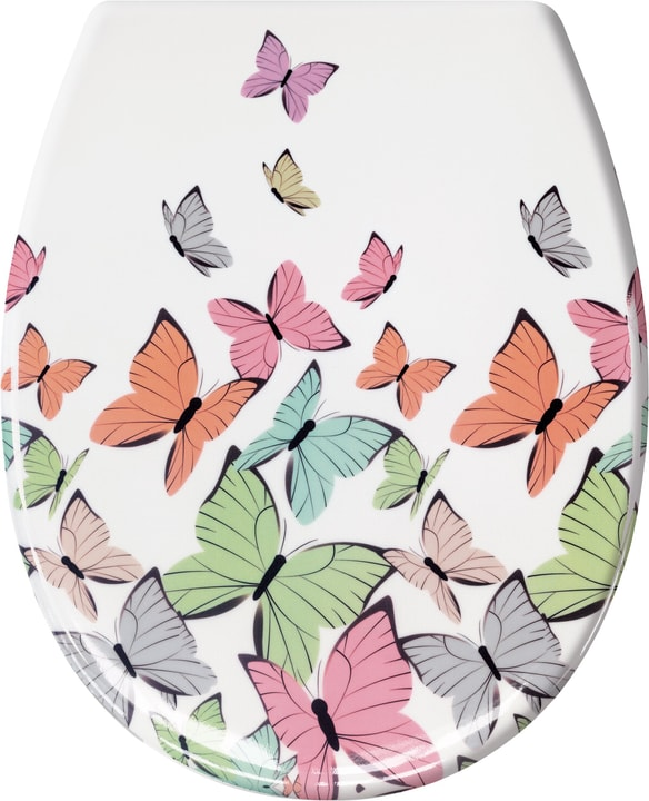 Sedile per WC Butterflies Kleine Wolke 675146400000 N. figura 1