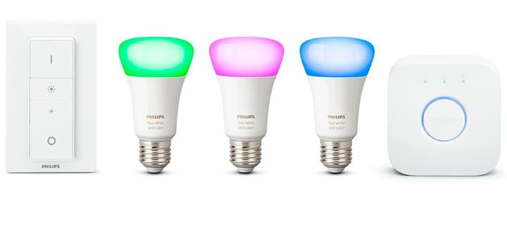 HUE Starter Kit White and Color Ambiance Philips 380113800000 Bild Nr. 1
