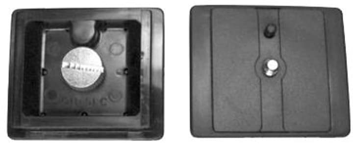 Ersatzplatte - 44 x 52 mm Velbon 785300134904 Bild Nr. 1