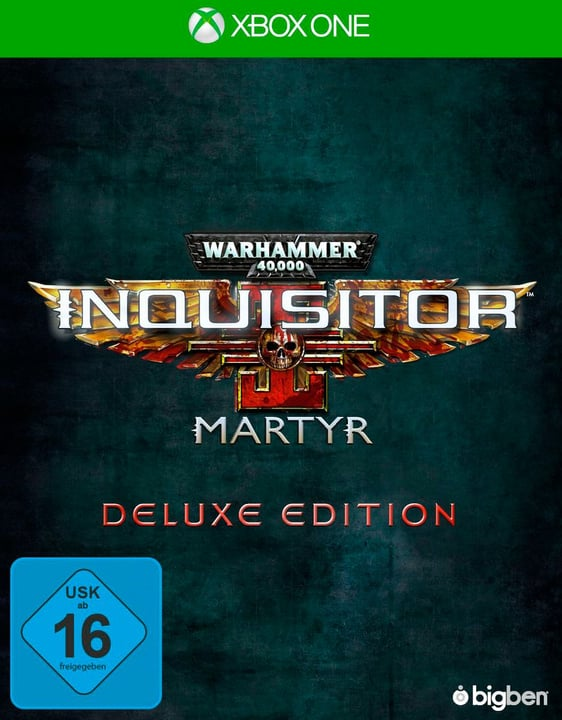 Xbox One - Warhammer 40.000 Inquisitor Martyr - Deluxe Edition Fisico (Box) 785300132954 N. figura 1