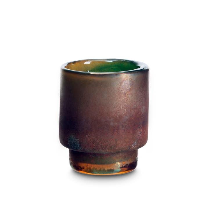 SINA Teelichthalter 396078000000 Grösse B: 10.0 cm x T: 10.0 cm x H: 12.0 cm Farbe Türkis Bild Nr. 1