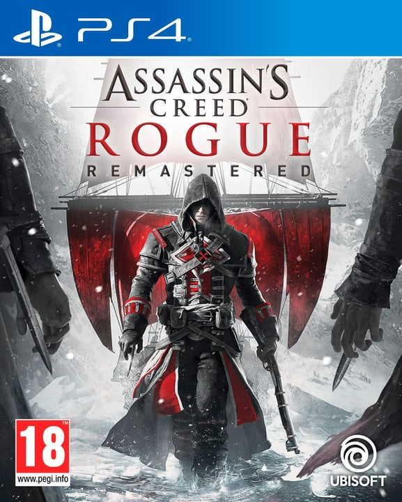 PS4 - Assassin's Creed Rogue - Remastered (D/F/I) Fisico (Box) 785300132155 N. figura 1