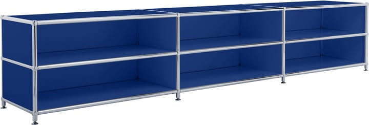 FLEXCUBE Buffet bas 401813730140 Dimensions L: 227.0 cm x P: 40.0 cm x H: 44.5 cm Couleur Bleu Photo no. 1