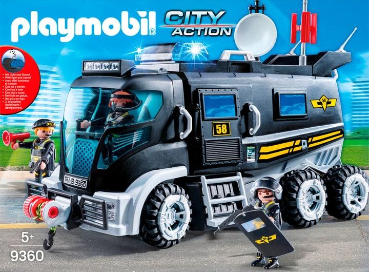 Playmobil SEK-Truck mit Licht & Sound 9360 744555000000 Bild Nr. 1