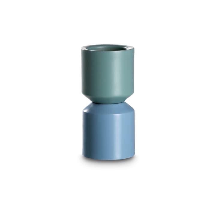 GIRO Teelichthalter 396090000000 Grösse B: 6.0 cm x T: 6.0 cm x H: 12.5 cm Farbe Blau Bild Nr. 1