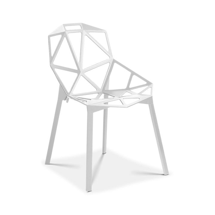 CHAIR ONE Chaise Magis 366131200010 Dimensions L: 59.0 cm x P: 55.0 cm x H: 82.0 cm Couleur Blanc Photo no. 1