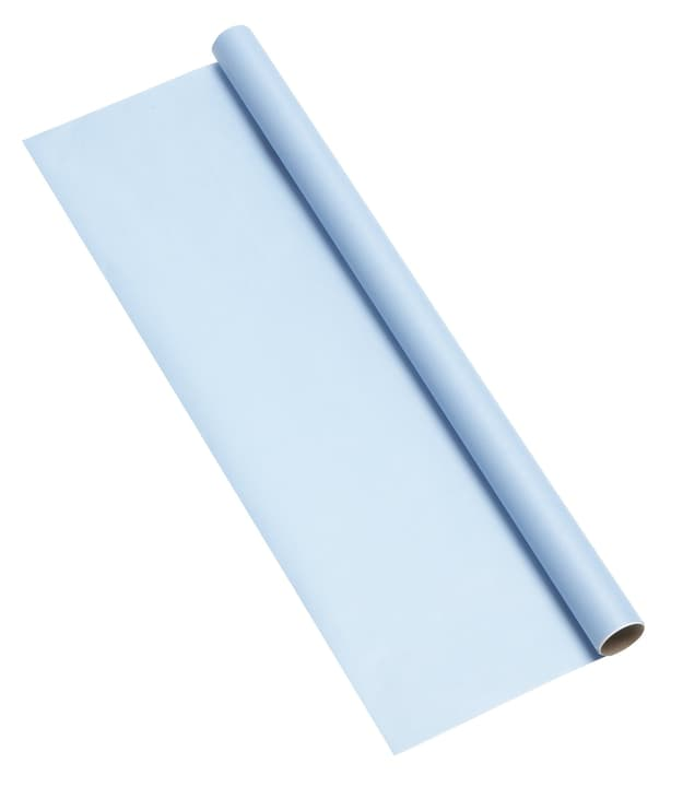 KRAFT Papier-cadeau 440630200544 Couleur Bleu clair Dimensions L: 70.0 cm Photo no. 1