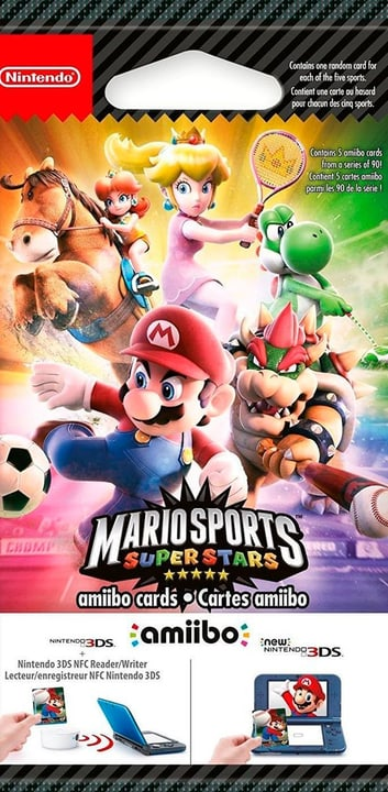 Amiibo - Mario Sports Superstars 5 Cartes 785300121796 Photo no. 1
