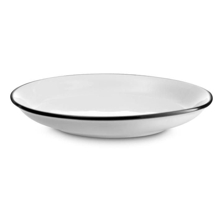 NOSTALGIE Desserteller 20cm weiss 393169200000 Grösse B: 20.0 cm x T: 20.0 cm x H: 2.5 cm Farbe Weiss Bild Nr. 1