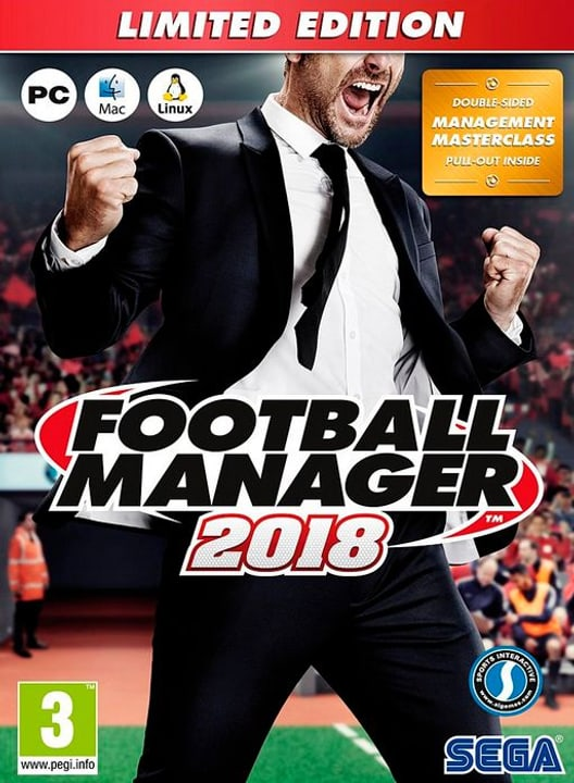 PC - Football Manager 2018 Limited Edition E Physique (Box) 785300130182 Photo no. 1