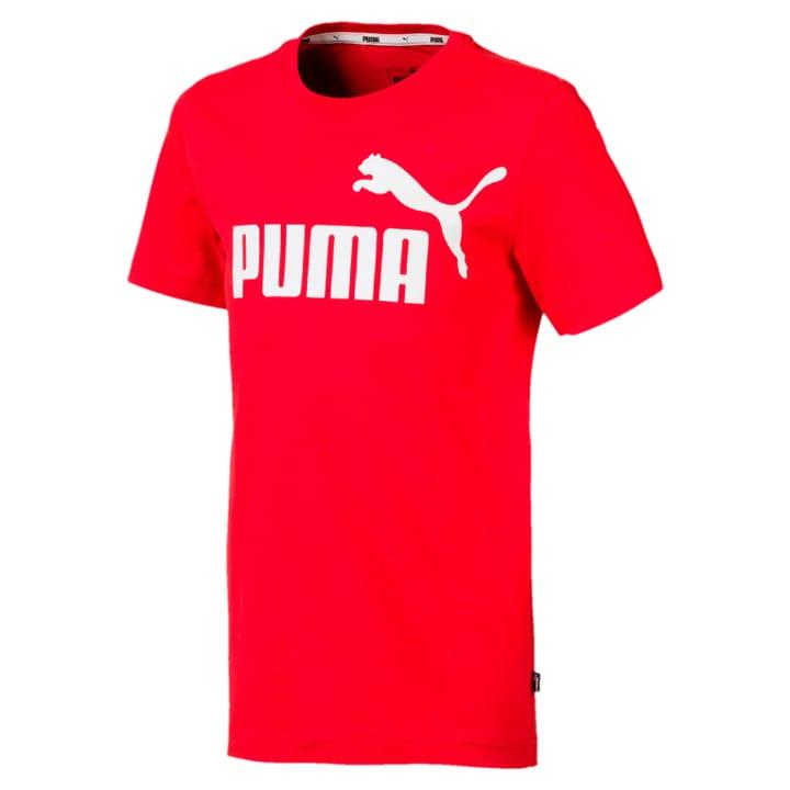 ESS Logo Tee B Knaben-T-Shirt Puma 466908215230 Farbe rot Grösse 152 Bild-Nr. 1
