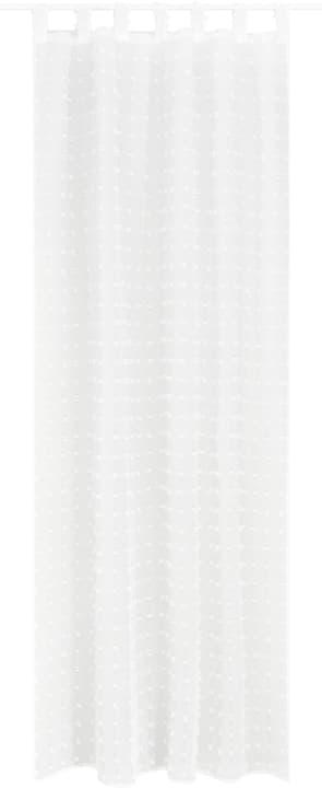 MARIANO Fertigvorhang Tag 430273721810 Farbe Weiss Grösse B: 150.0 cm x H: 260.0 cm Bild Nr. 1