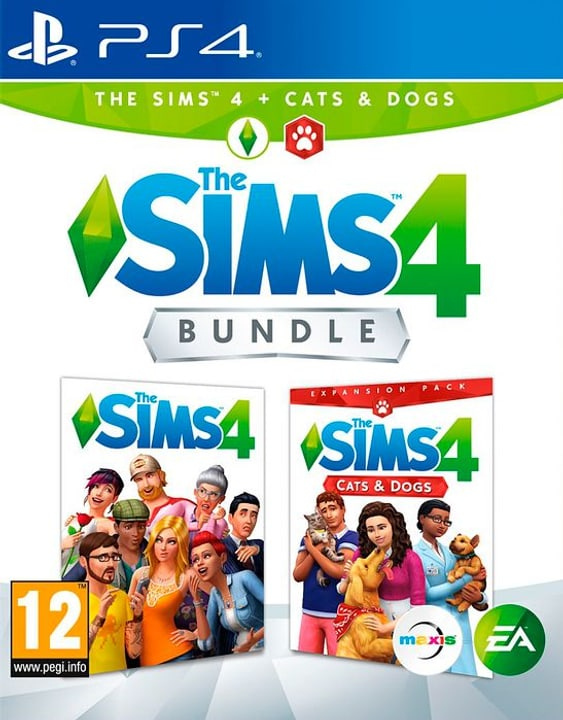 PS4 - The Sims 4 - Cats & Dogs Bundle Box 785300139904 N. figura 1
