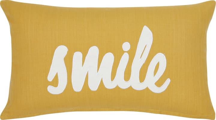 MARIELA Zierkissen 450683440350 Farbe Gelb Grösse B: 30.0 cm x H: 50.0 cm Bild Nr. 1