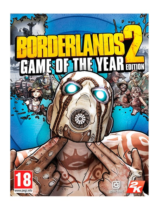 PC - Borderlands 2: Game of the Year Edition Download (ESD) 785300133286 N. figura 1