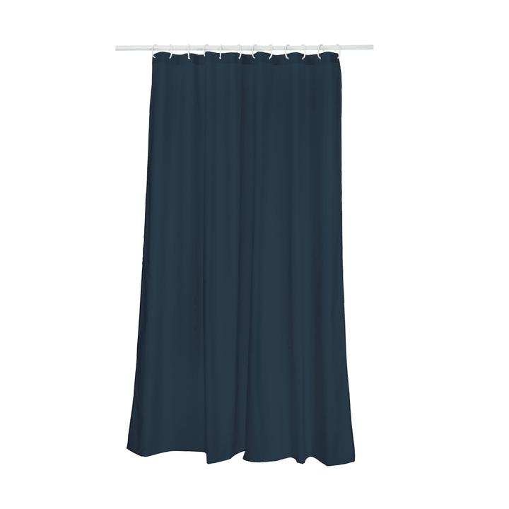 UNO Rideau de douche 374146253443 Dimensions L: 180.0 cm x H: 180.0 cm Couleur Bleu foncé Photo no. 1