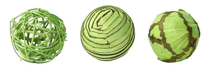 Boules Deco vert, 6cm, 3pcs. Do it + Garden 656546700004 Couleur Vert Taille ø: 60.0 mm Photo no. 1
