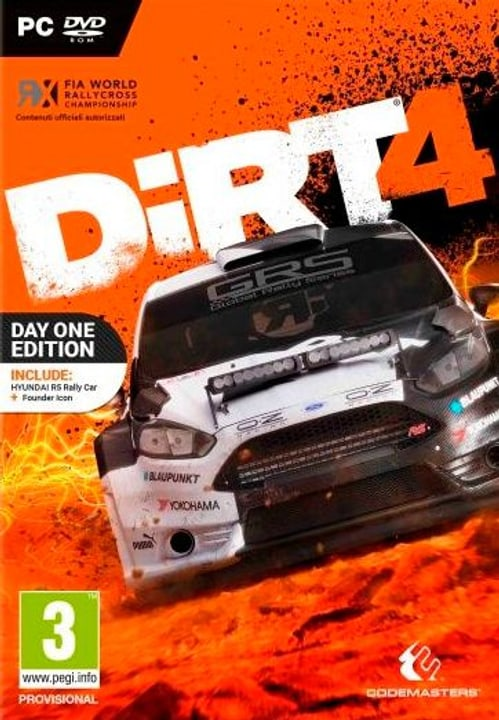 PC - DiRT 4 Day One Edition Physique (Box)