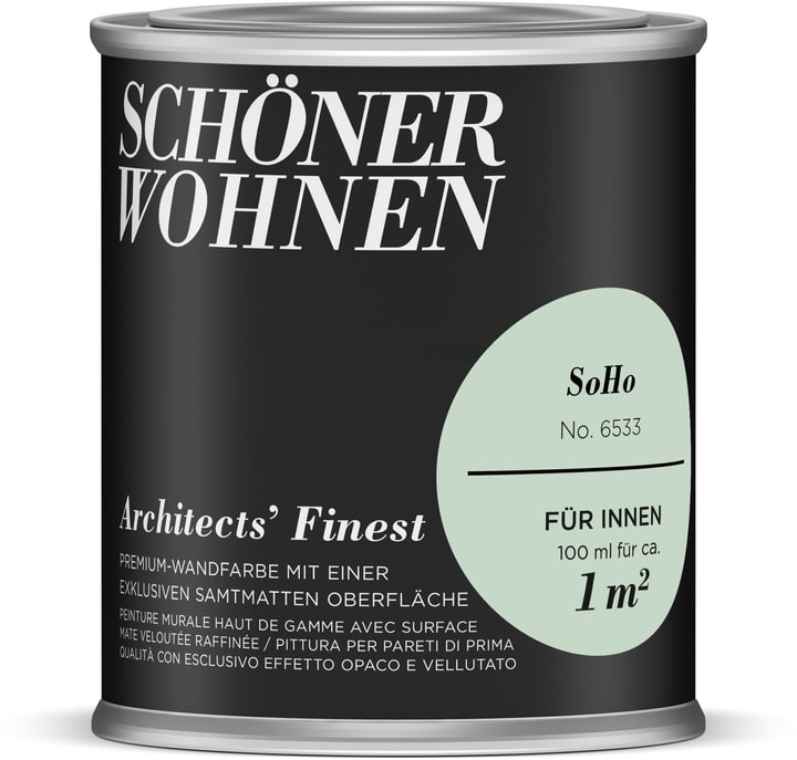Architects' Finest 100 ml SoHo Schöner Wohnen 660965100000 Couleur SoHo Contenu 100.0 ml Photo no. 1
