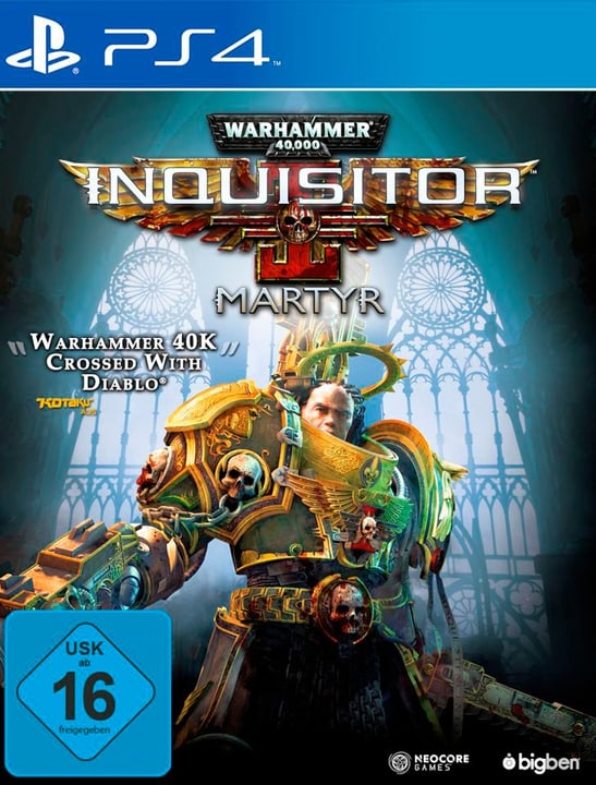PS4 - Warhammer 40.000 Inquisitor Martyr Box 785300132918 N. figura 1