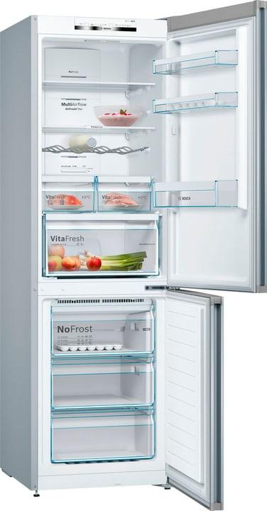 Serie 4 NoFrost Vario Style avec une porte échangeable de couleur champagne Réfrigérateur / congélateur Bosch 785300137498 Photo no. 1