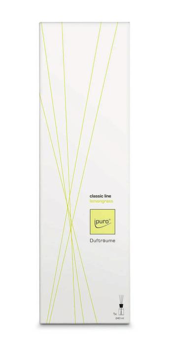 Classic Line lemon grass, 240ml Ipuro 656138300011 Grösse L: 11.0 cm x B: 7.9 cm x H: 36.3 cm Bild Nr. 1