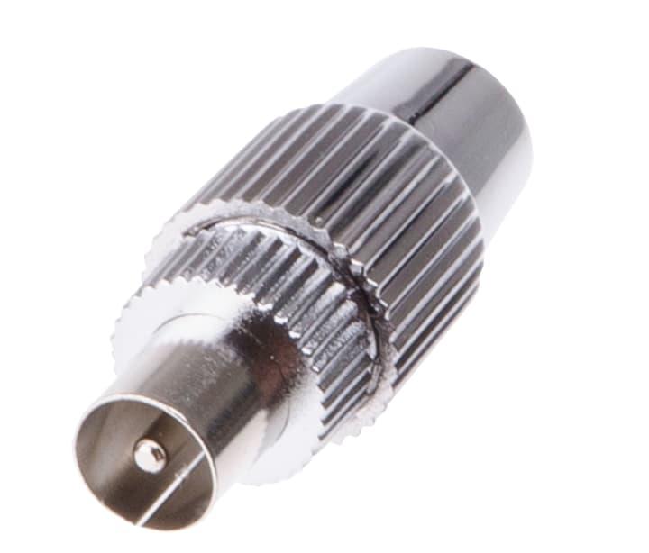 Antennenstecker Metall Schwaiger 613133400000 Bild Nr. 1
