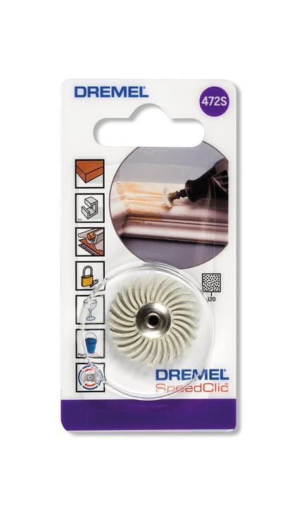 SC Spazzola abrasiva di dettagliata G120 (472S) Accessori per levigare Dremel 616103600000 N. figura 1