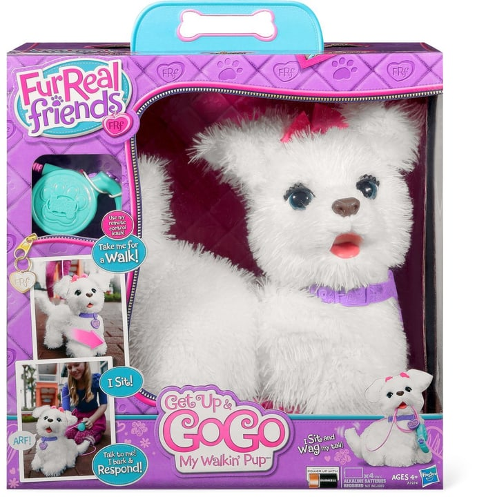 W14 HASBRO FURREAL FRIENDS GOGO HUND Fur Real 74465730000014 Bild Nr. 1