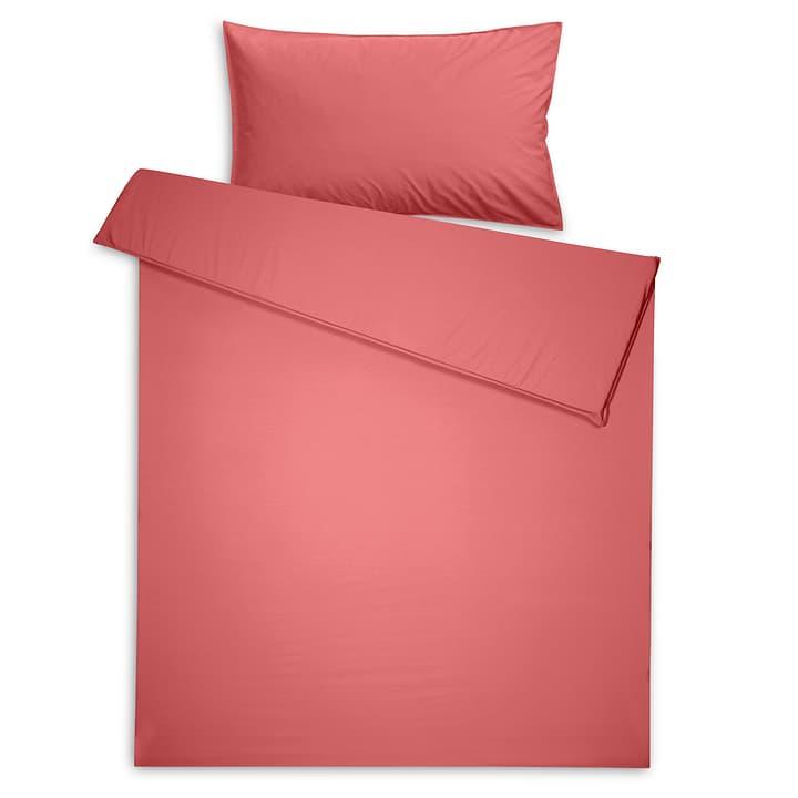BETRIA Perkal-Duvetbezug 376024659605 Grösse L: 210.0 cm x B: 200.0 cm Farbe Rot Bild Nr. 1