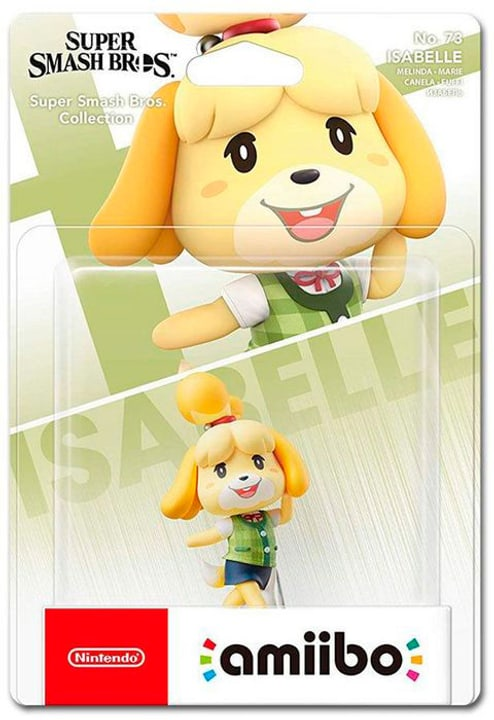 amiibo Super Smash Bros. Character - Isabelle 785300145778 Photo no. 1